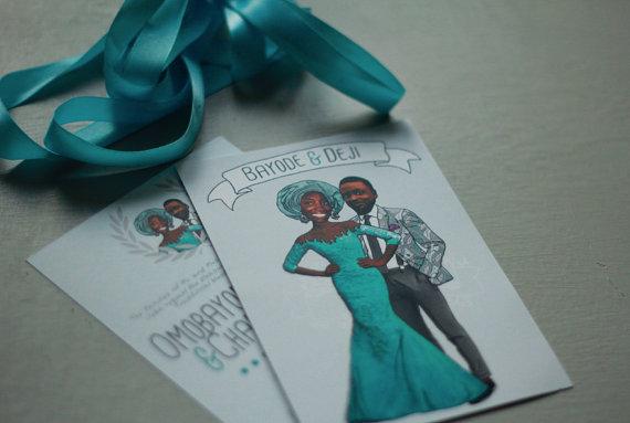 kazvaremadeit nigerian traditional wedding invite