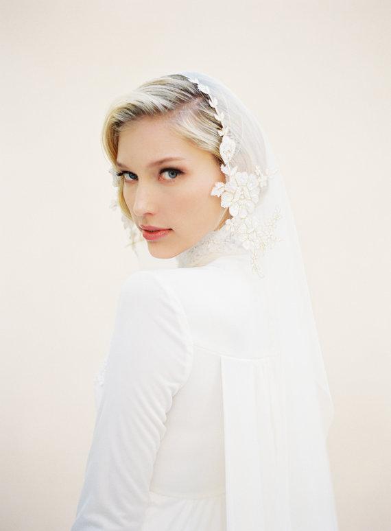 veiled beauty wedding bridal veil